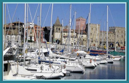 Gijón harbour